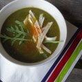 zupa porowo-cebulowa