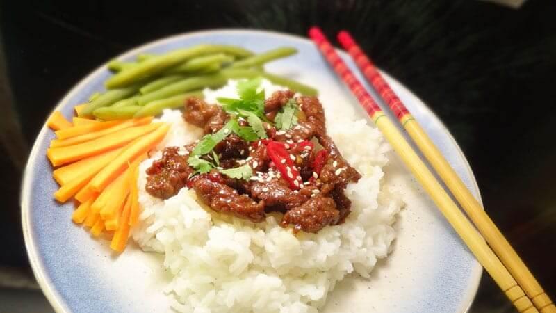wołowina po azjatycku